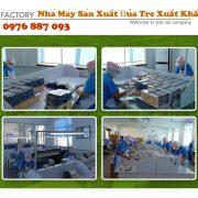 Nhà máy sản xuất đũa tre