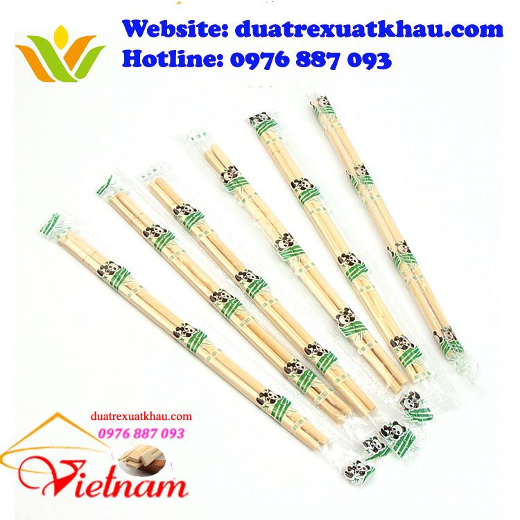 Mẫu đũa ăn nhà hàng sạch và an toàn sử dụng trong nhà hàng