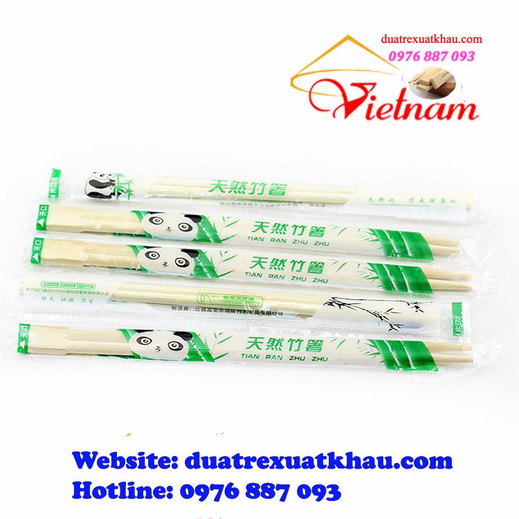 Đũa sạch ăn và dùng một lần trong bao nilon