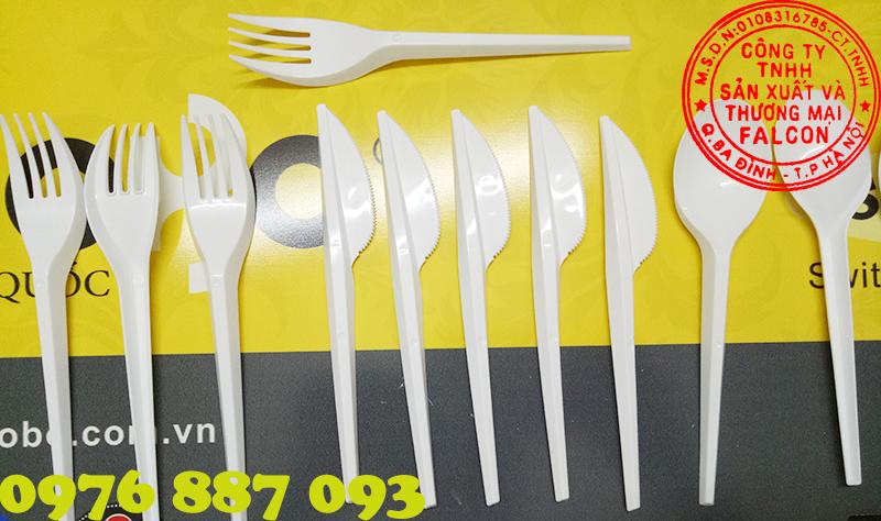 Dĩa và dao dùng một lần